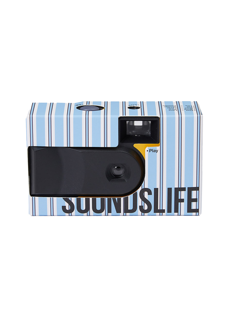 SOUNDSLIFE - SL X TNM Disposable Camera White