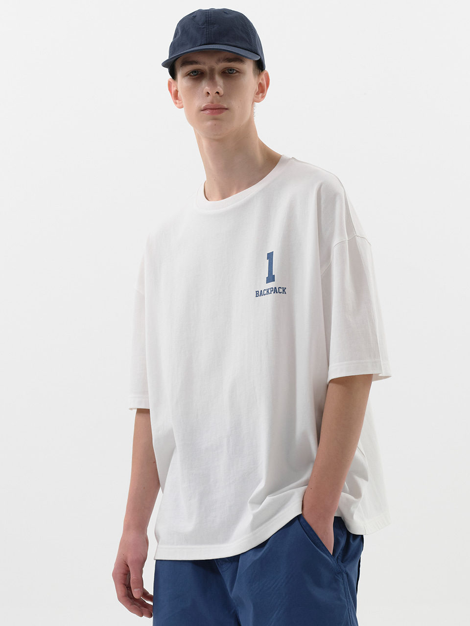 SOUNDSLIFE - 1 BACKPACK Tee White