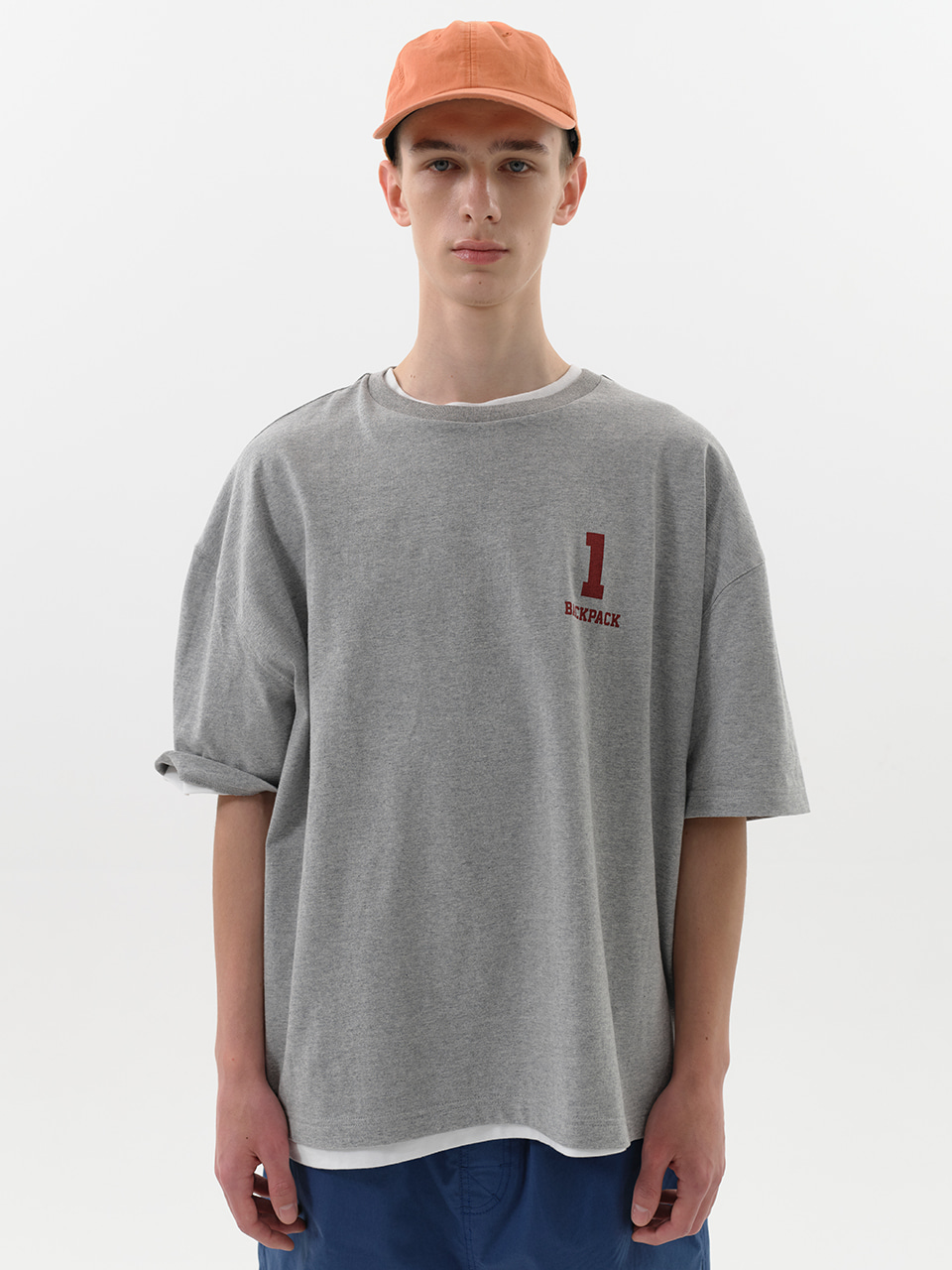 SOUNDSLIFE - 1 BACKPACK Tee Melange Grey
